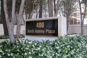 Cast Bronze Plaque_400 North Ashley_TampaFL