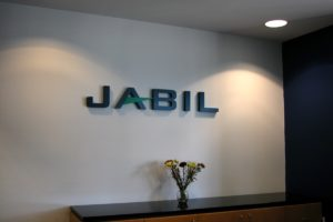 Dimensional Letters_Jabil_StPetersburgFL