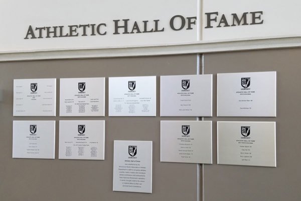 Donor Recognition_Athletic Hall of Fame_Shorecrest_St PetersburgFL