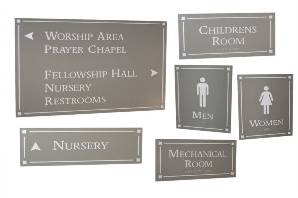 Interior Sign System_Designer Series_LCC