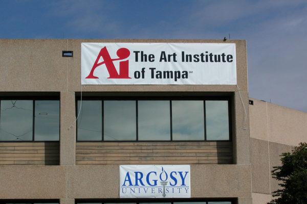 Vinyl Banner_ AI The Art Institute of Tampa