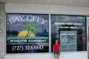 Vinyl Graphics on Store Front_ClearwaterFL