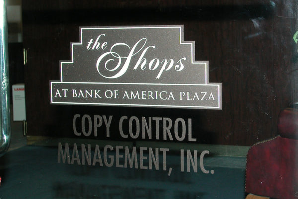Vinyl Graphics_Bank of America_TampaFL