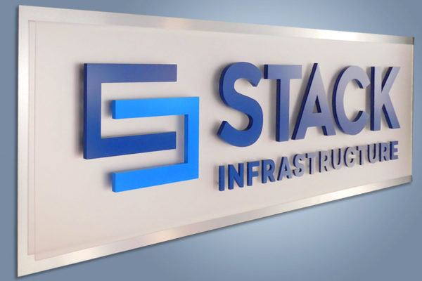 Interior Reception Area Logo Stack Infrastructure